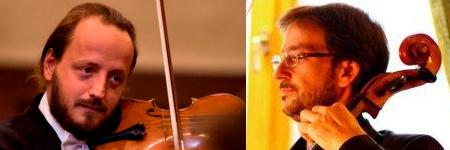 I protagonisti del Doppio concerto: Luca Santaniello e Mario Shirai Grigolato