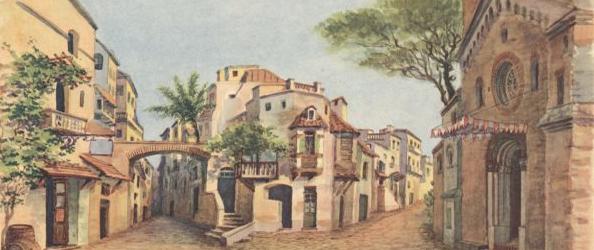 """Una veduta da """"tipica"""" Cavalleria Rusticana"""